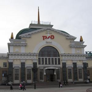 Железнодорожные вокзалы Пуровска